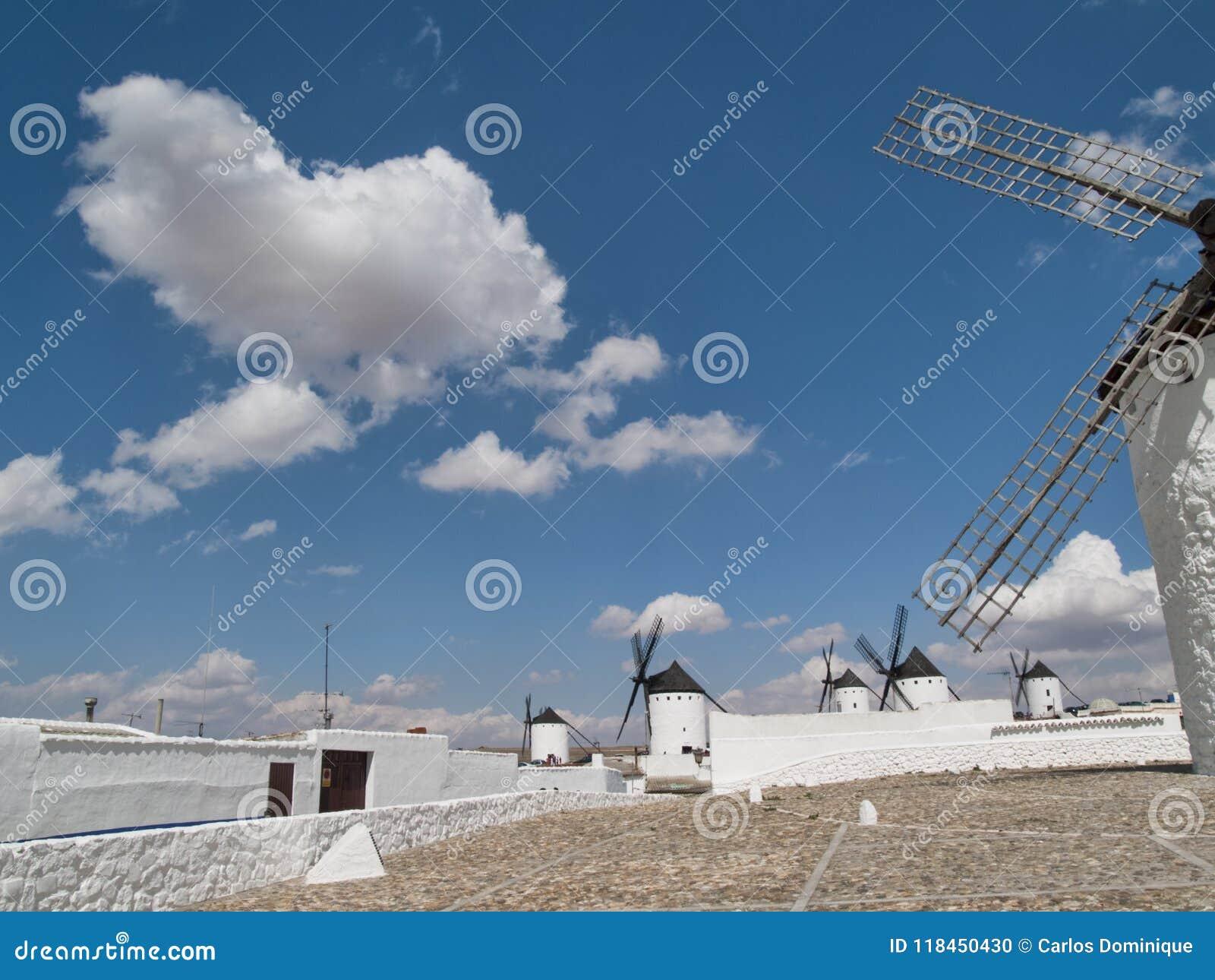 Windmühlen in Campo de Criptana