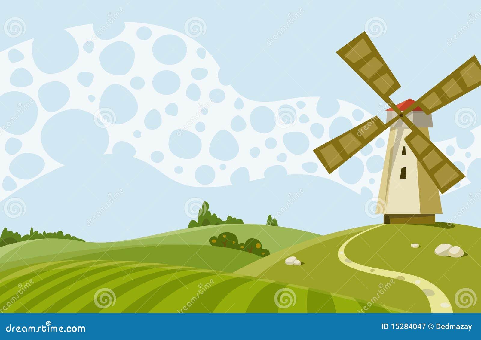 windmill cartoons  illustrations  u0026 vector stock images