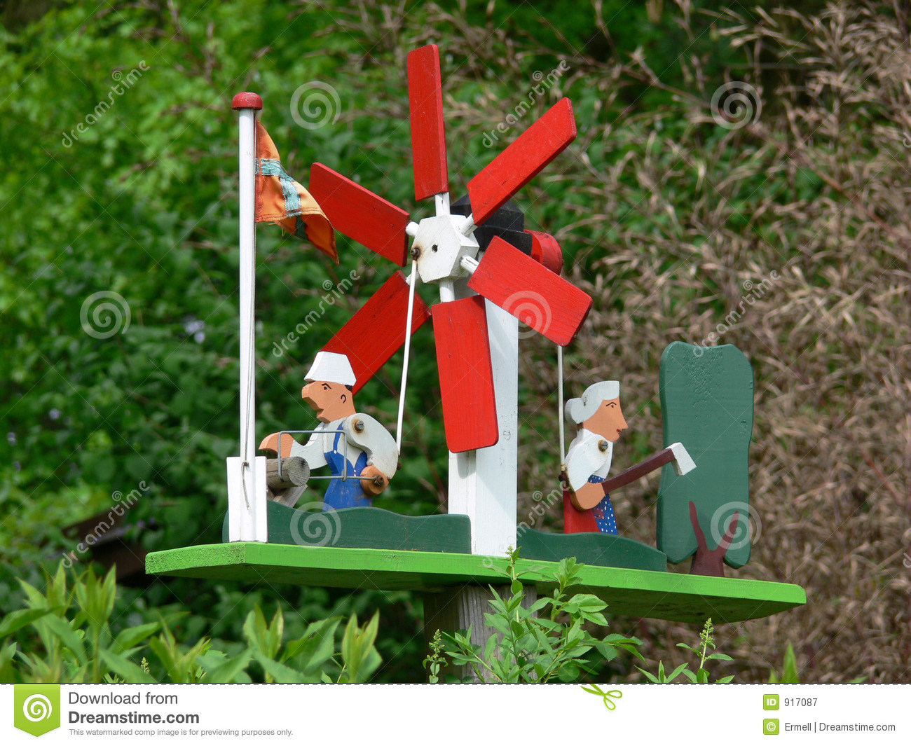 Windmill Royalty Free Stock Photography - Image: 917087