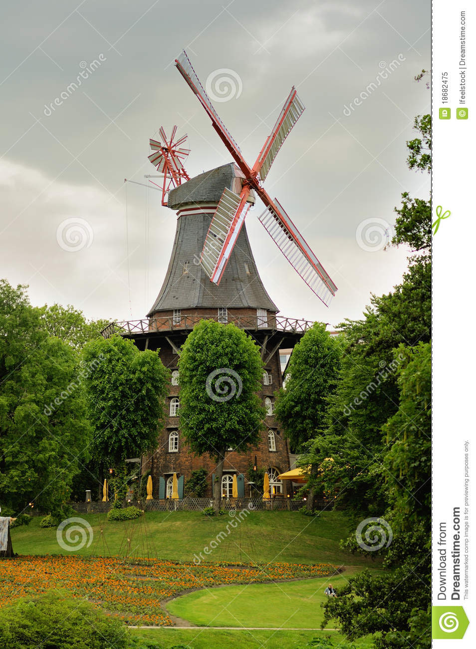 Windmill in bremen germany royalty free stock photo for 5 seasons designhotel bremen