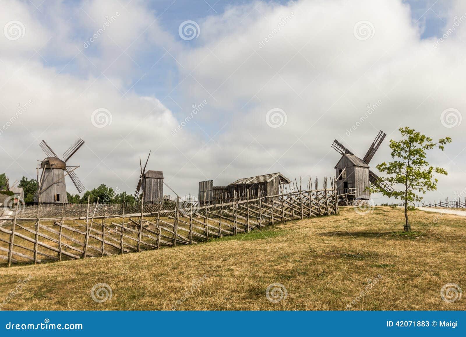 Download Windmill Farm stock image. Image of mills, island, energy - 42071883