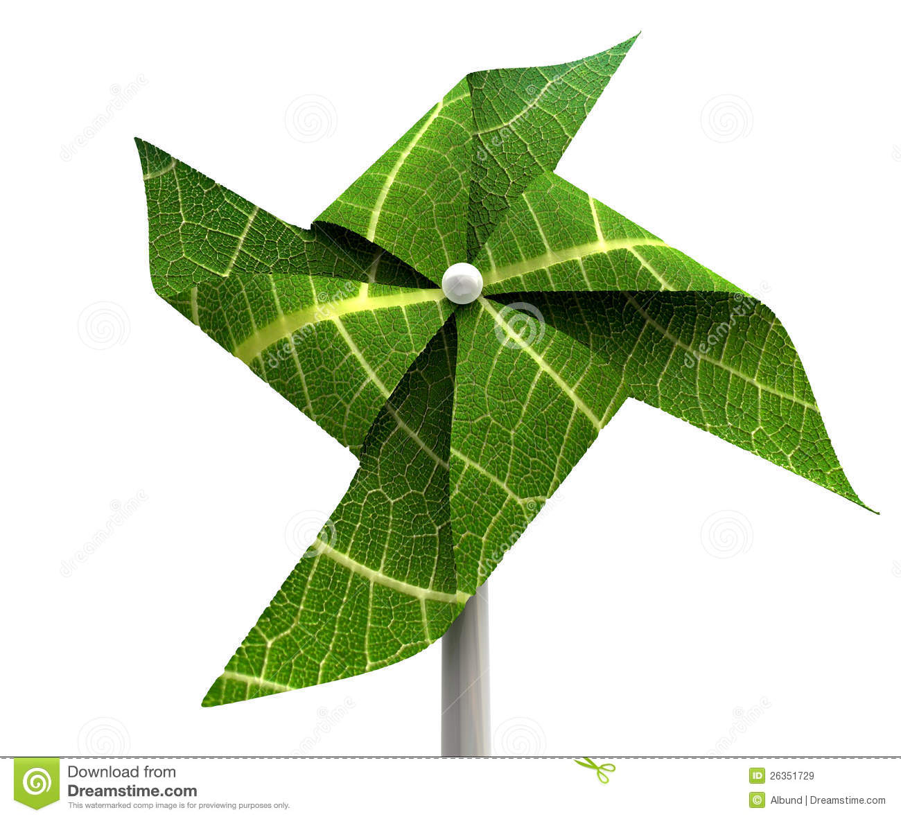 Windmill Green Energy Royalty Free Stock Images - Image: 26351729