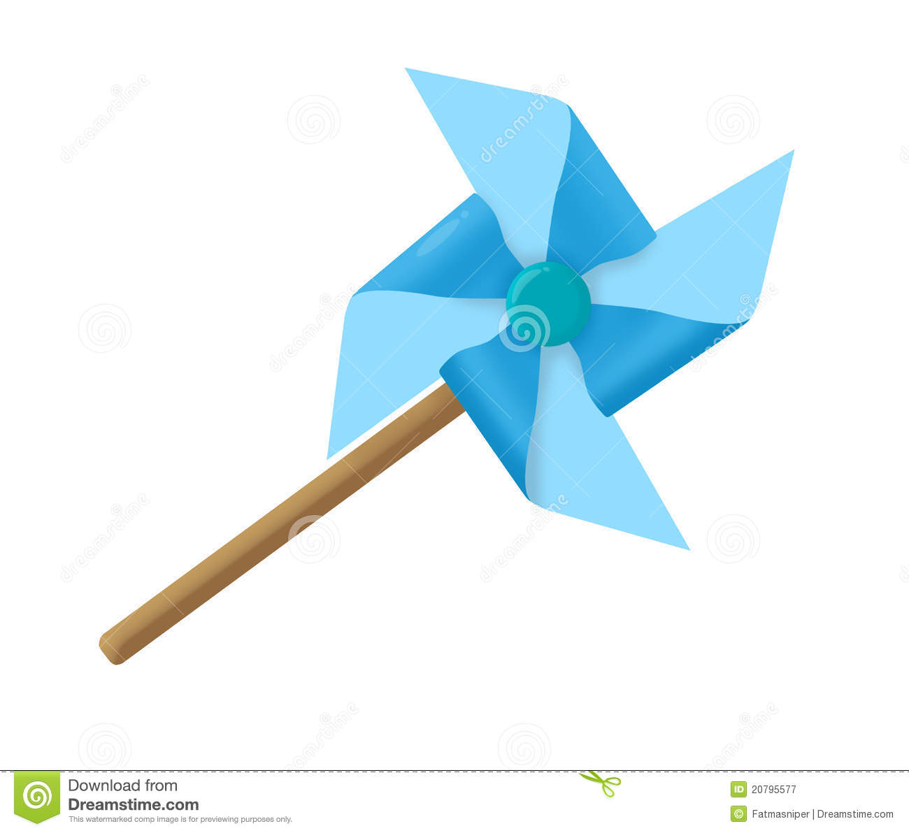 Windmill Paper Royalty Free Stock Photography - Image: 20795577