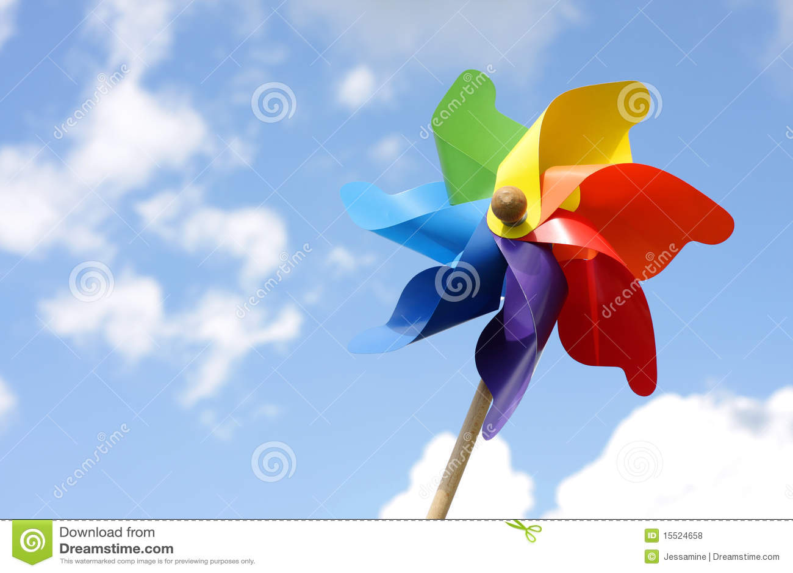 windmill toy stock photo  image of turn  pinwheel  summer