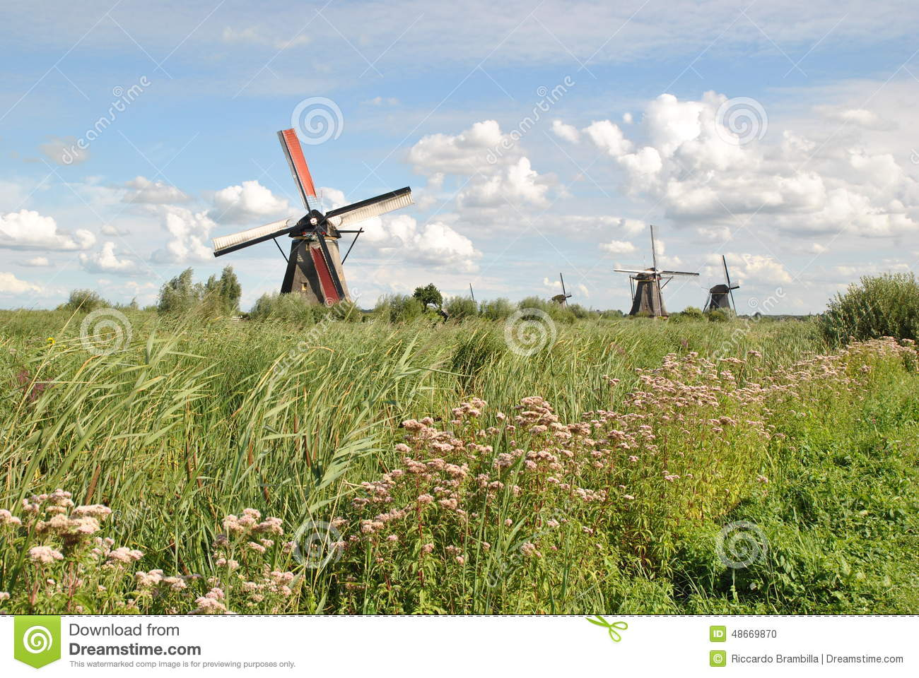 NETHERLANDS/HOLLAND_KINDERDIJK WINDMILLS Editorial Image ...