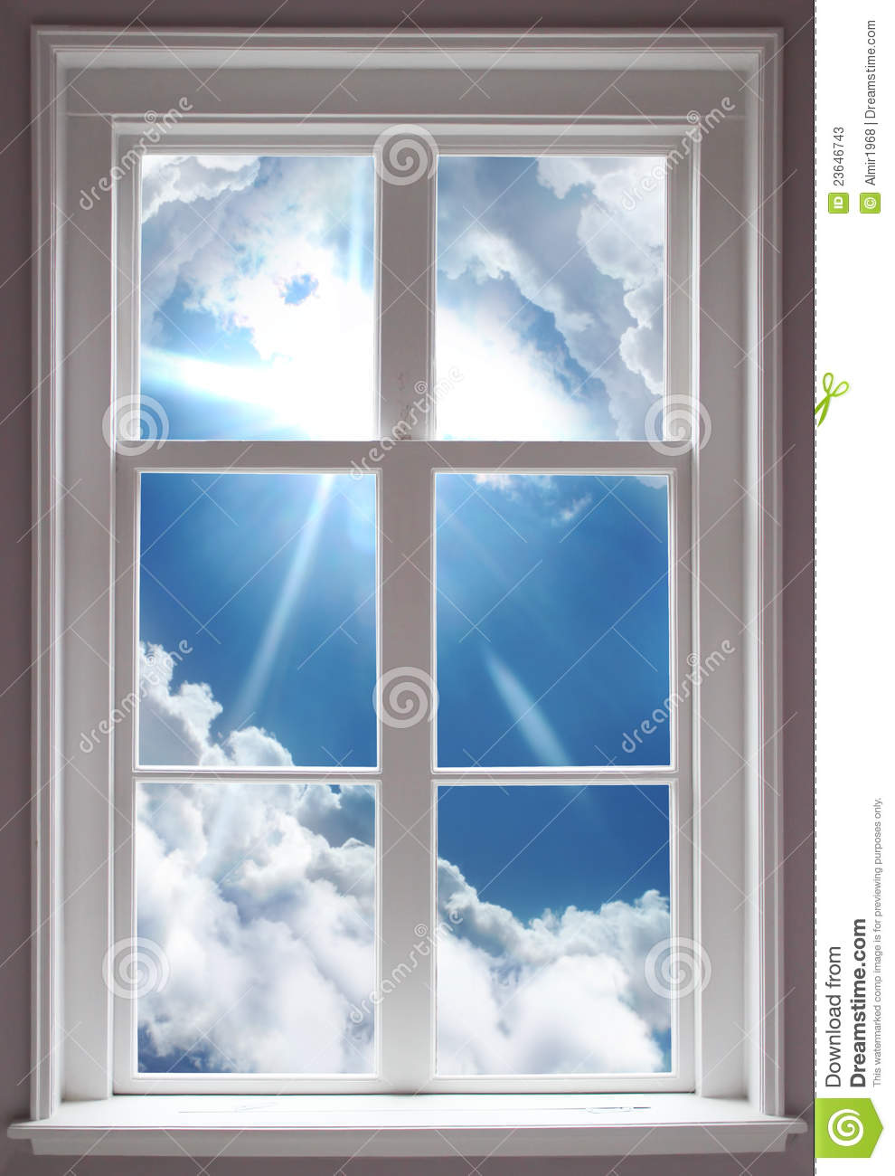 Window stock image image of object opening looking for Window object