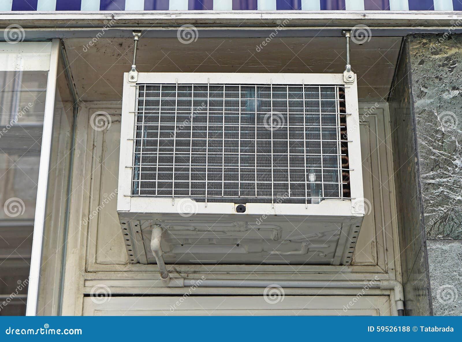 Window Air Conditioner Stock Photo Image: 59526188 #474966