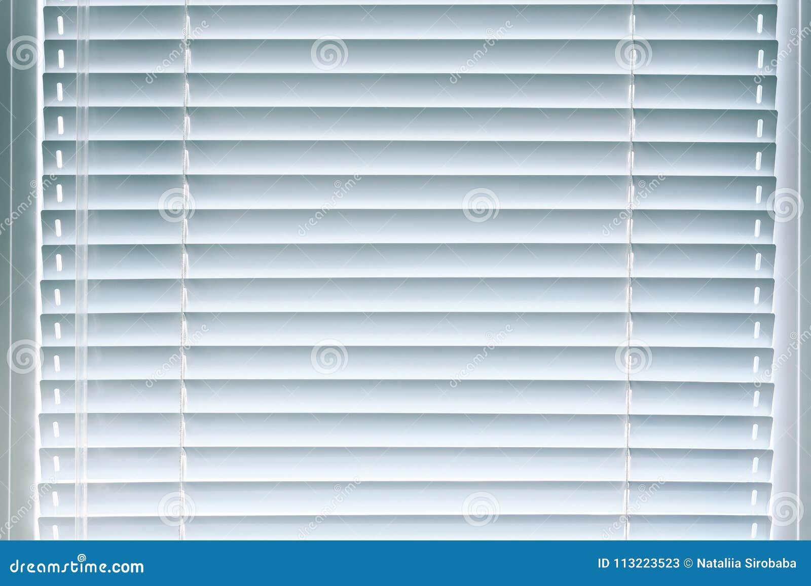 Window Aluminum Blinds Background Stock Image Image Of Look Horizontal 113223523