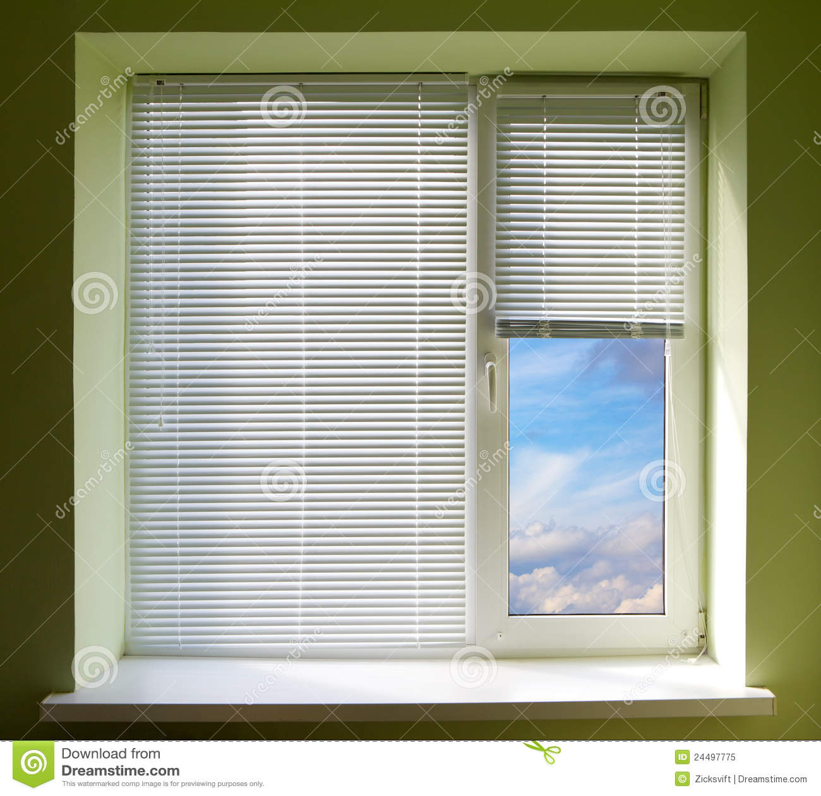 plastic window blinds pvc window blinds stock image image of blank office decoration 24497775