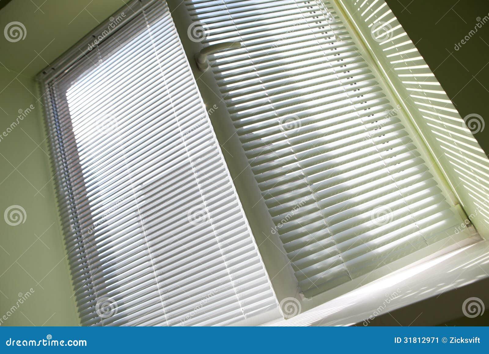 window blinds stock image image 31812971. Black Bedroom Furniture Sets. Home Design Ideas