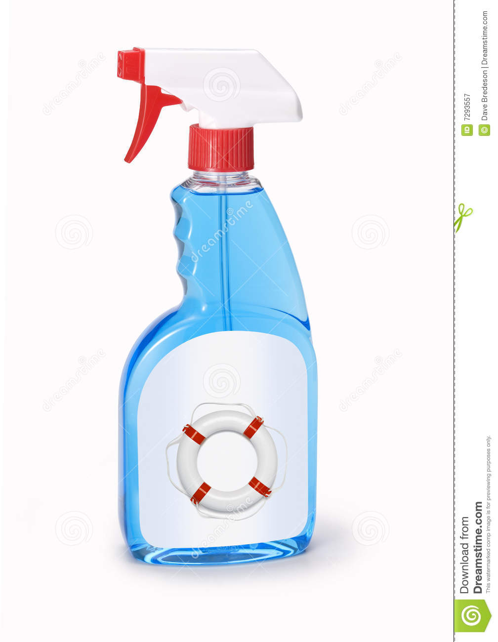 Window Cleaner Spray Bottle Royalty Free Stock Photography