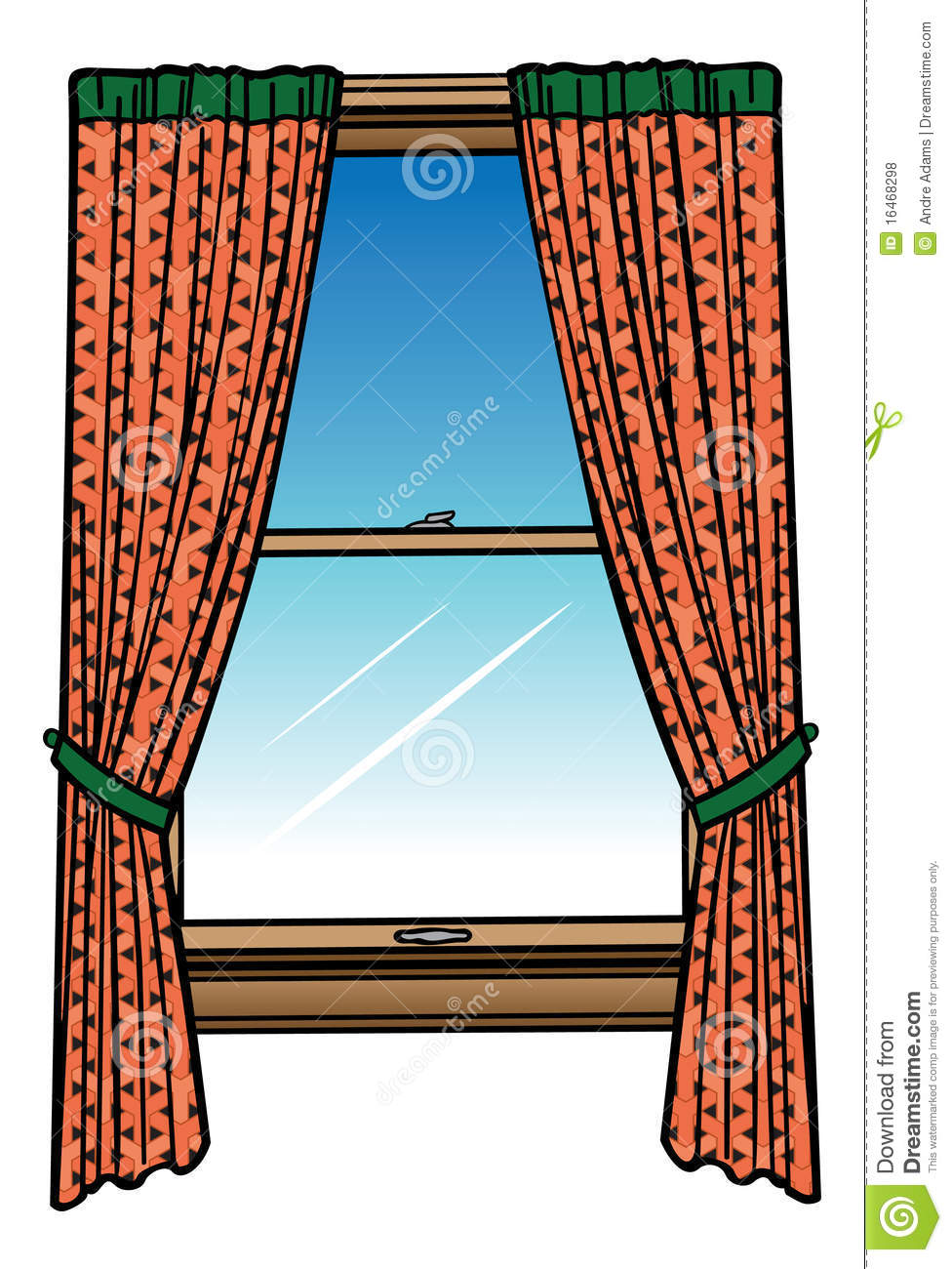 Window and curtains royalty free stock photos image 16468298 - Images of curtans ...