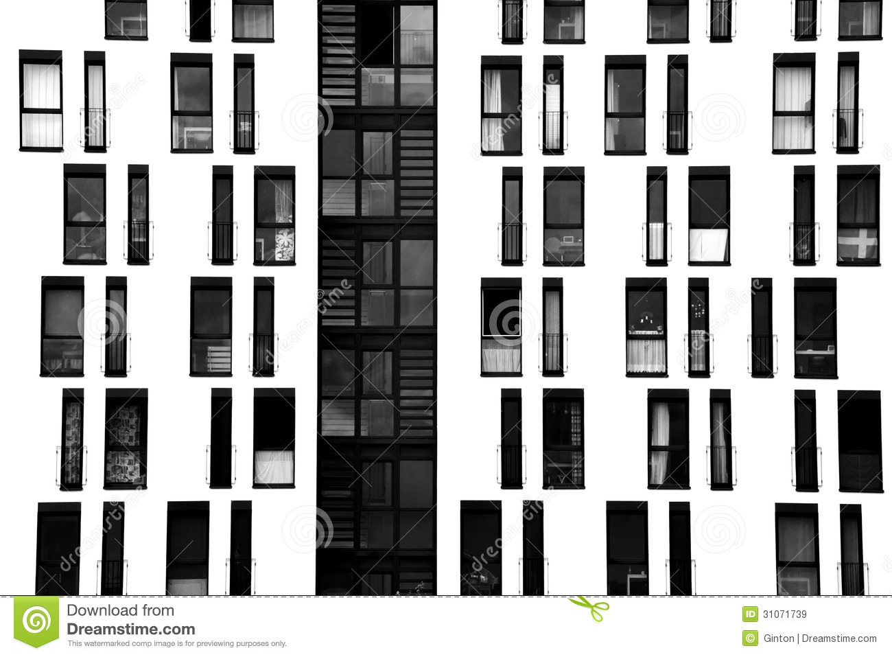 Window facade  Window Facade Royalty Free Stock Images - Image: 31071739