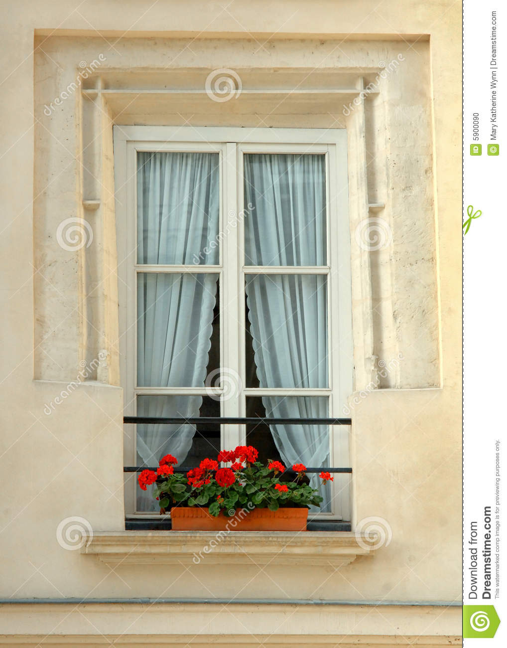 Stock Photo Window Flowers Image5900090 on window air conditioner remote control