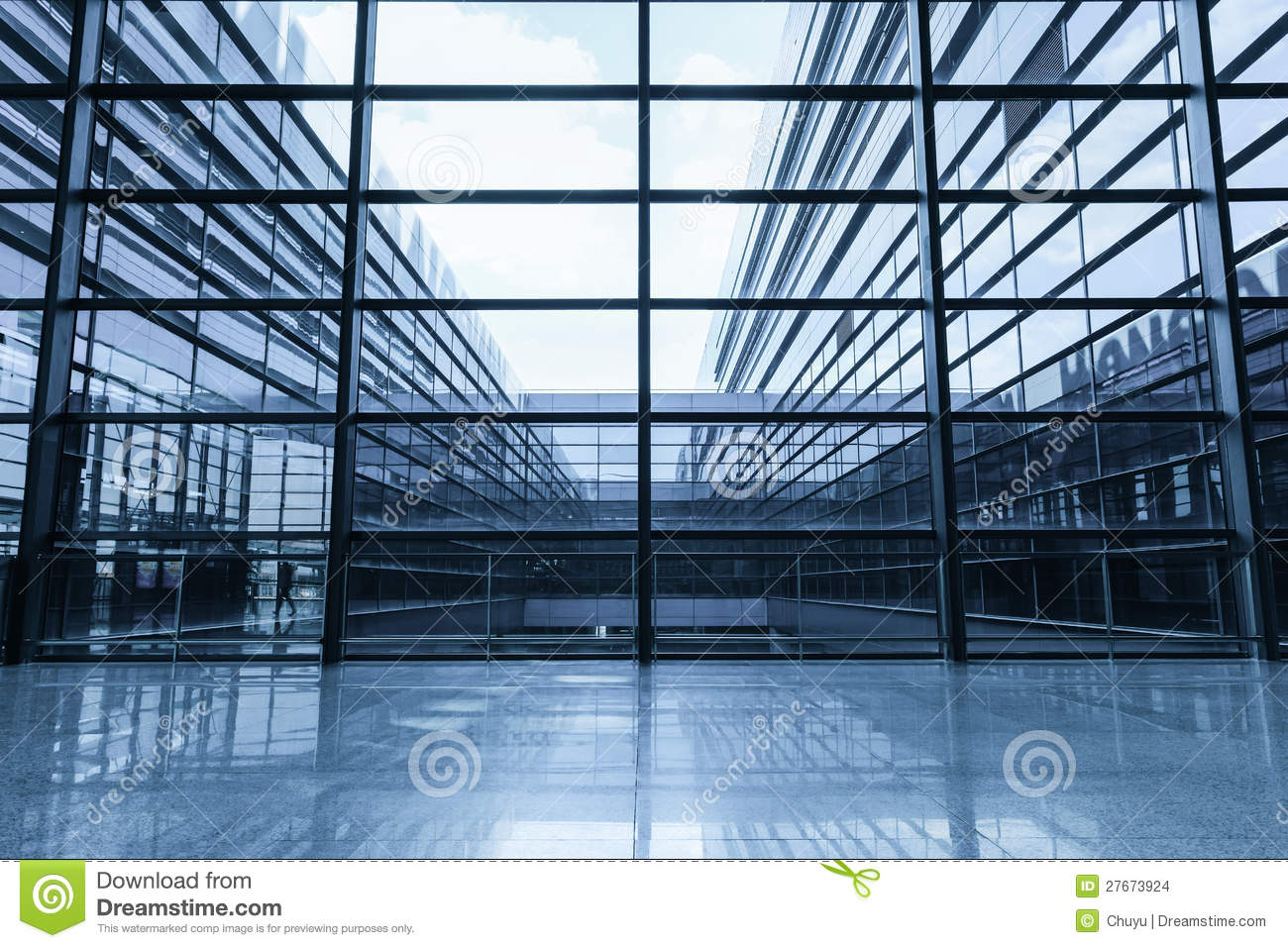 Window And Glass Curtain Wall Stock Photo - Image of light, facade ...