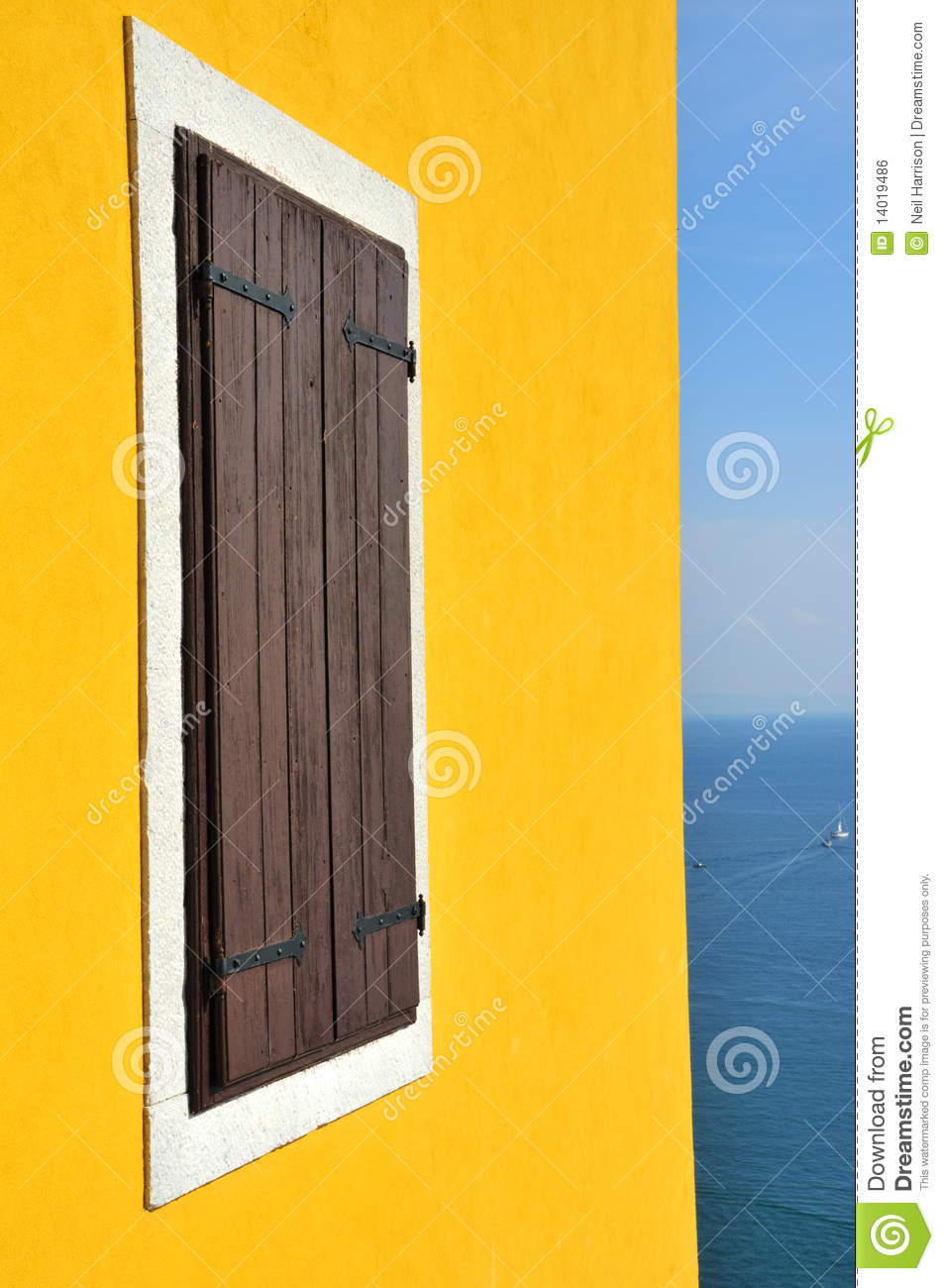 Window and the mediterranean