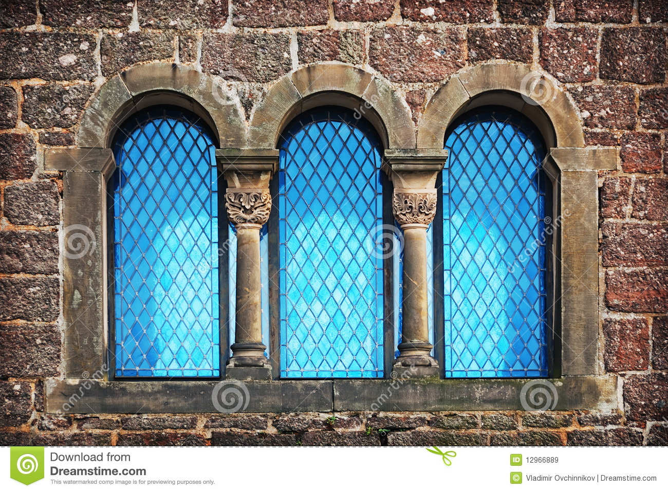 Window Of Old Castle Royalty Free Stock Images - Image: 12966889