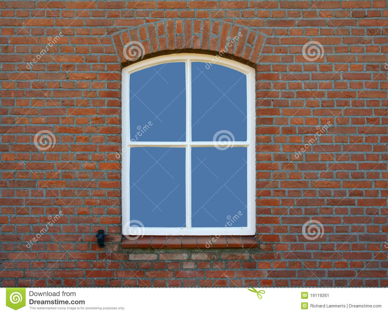 Window In Old Farmhouse Stock Image Image