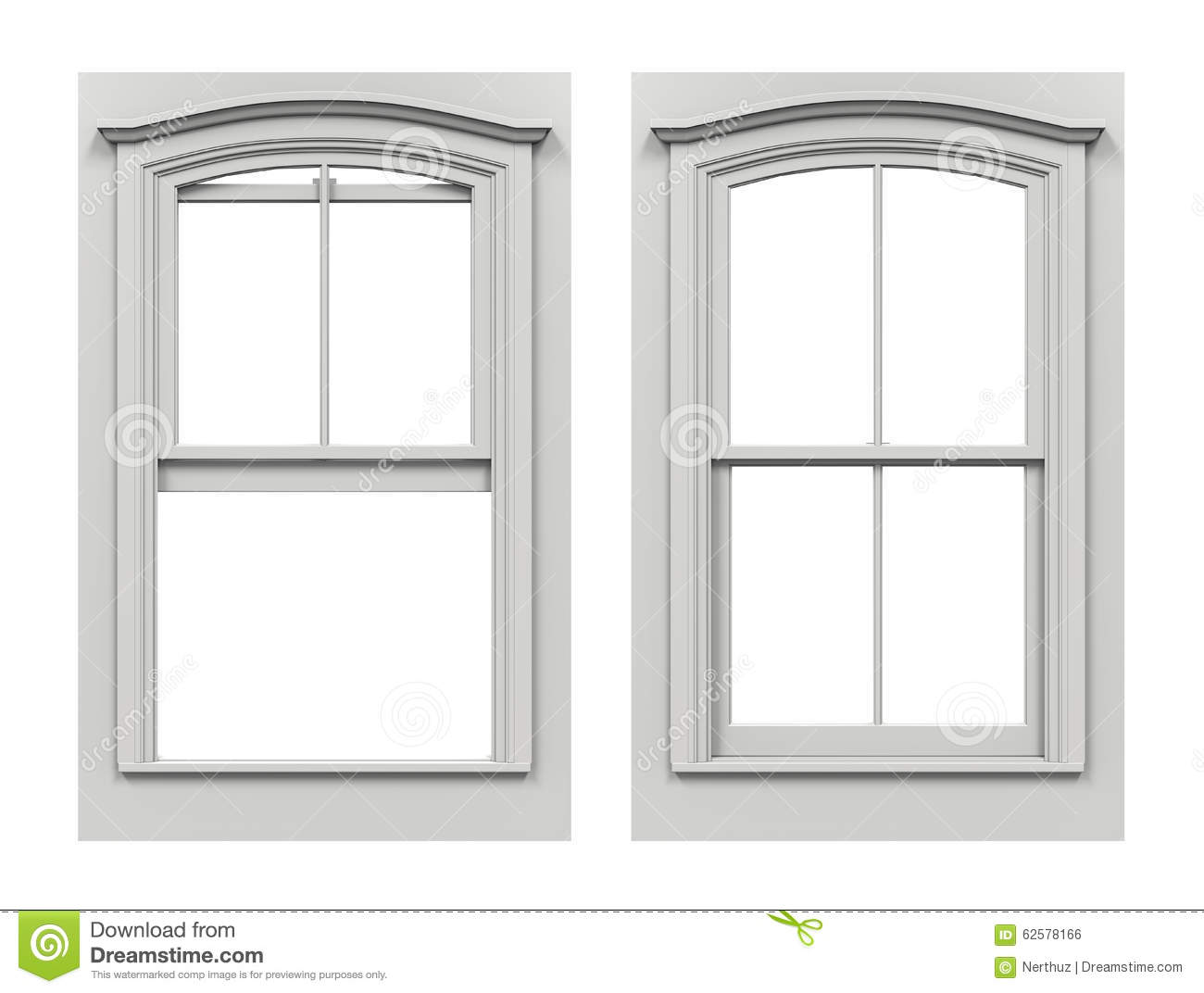 Window open and closed stock illustration image 62578166 for Fenster 3d zeichnen