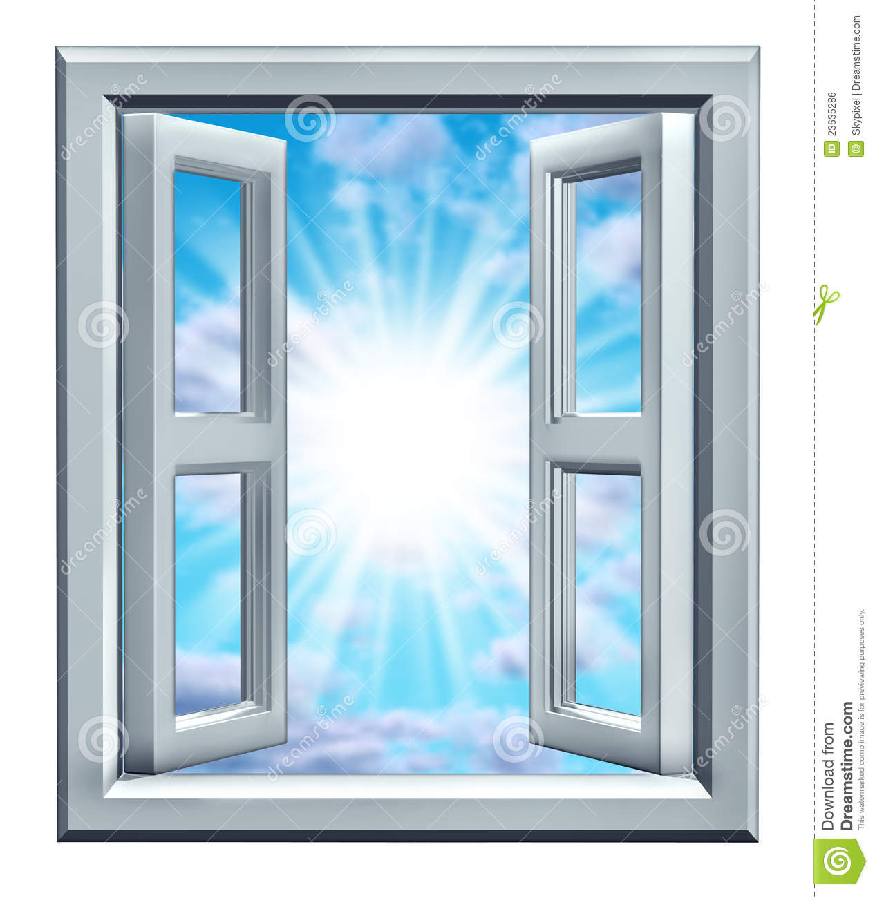 Window of opportunity royalty free stock image image for Window of opportunity