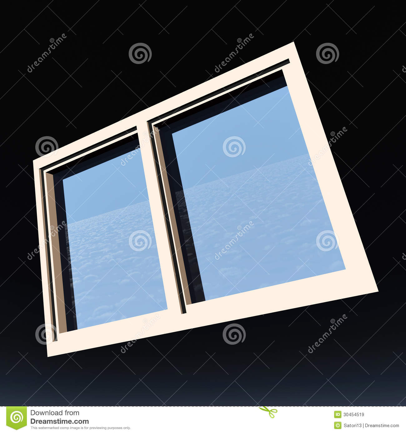 Window of opportunity royalty free stock images image for Window of opportunity