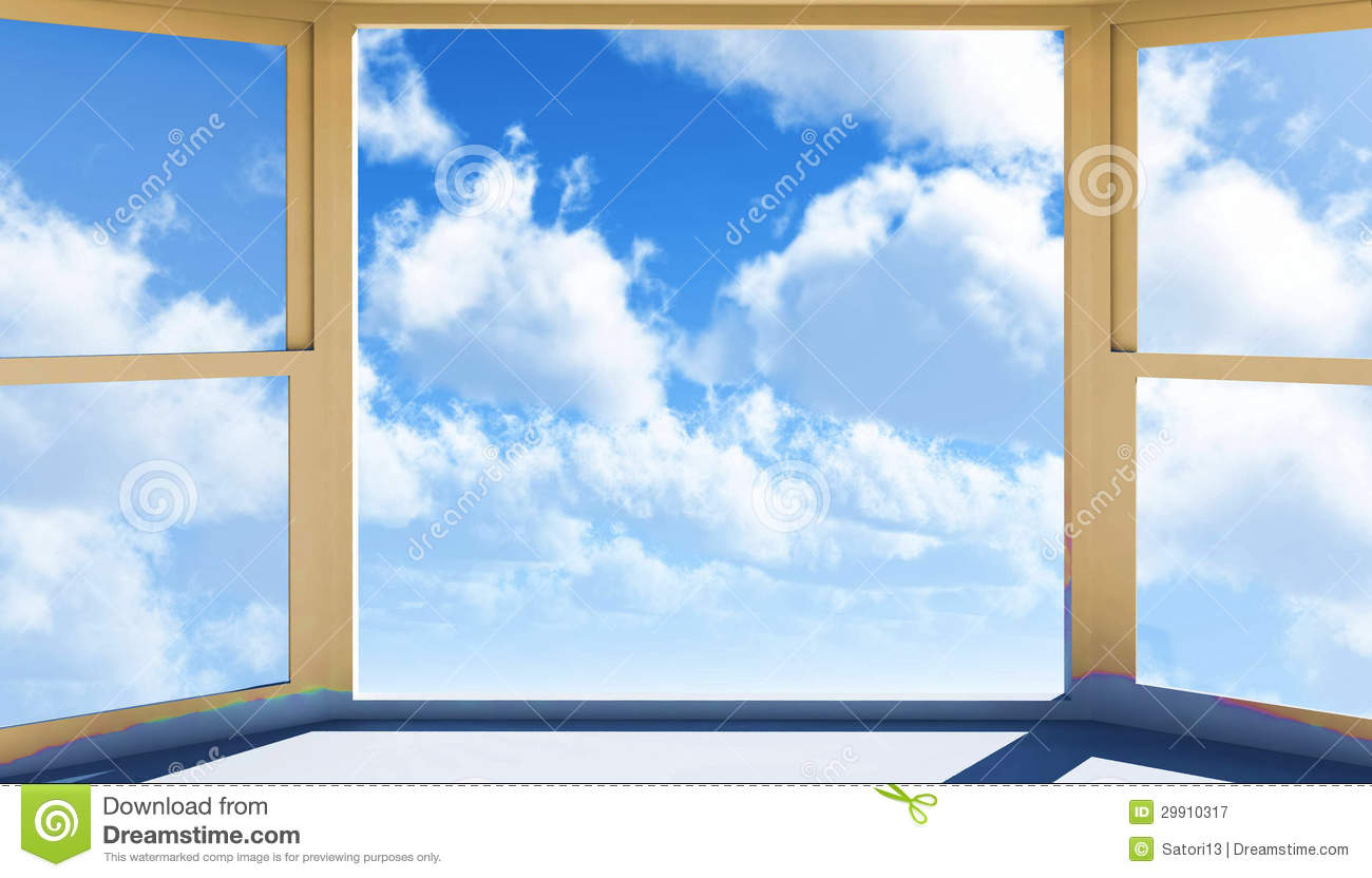 Window of opportunity royalty free stock photography for Window of opportunity