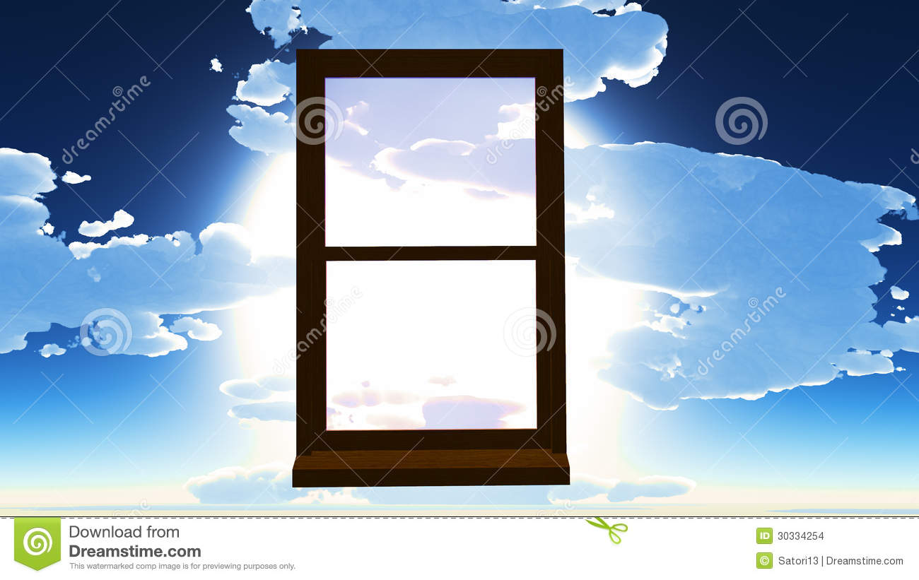 Window of opportunity stock images image 30334254 for Window of opportunity