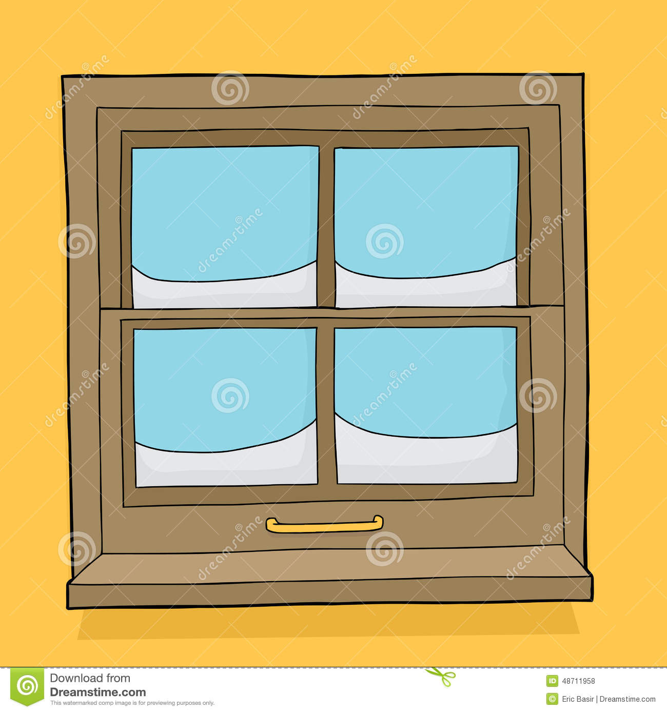 Snow Outside Window Stock Illustrations – 397 Snow Outside Window ... for Outside Window Clipart  76uhy