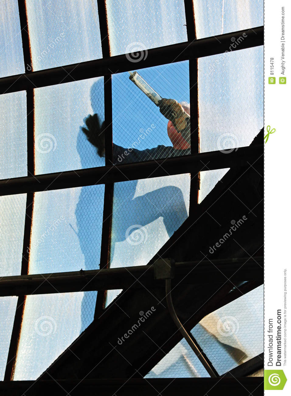 Window repair royalty free stock photos image 8115478 for Window replacement contractor
