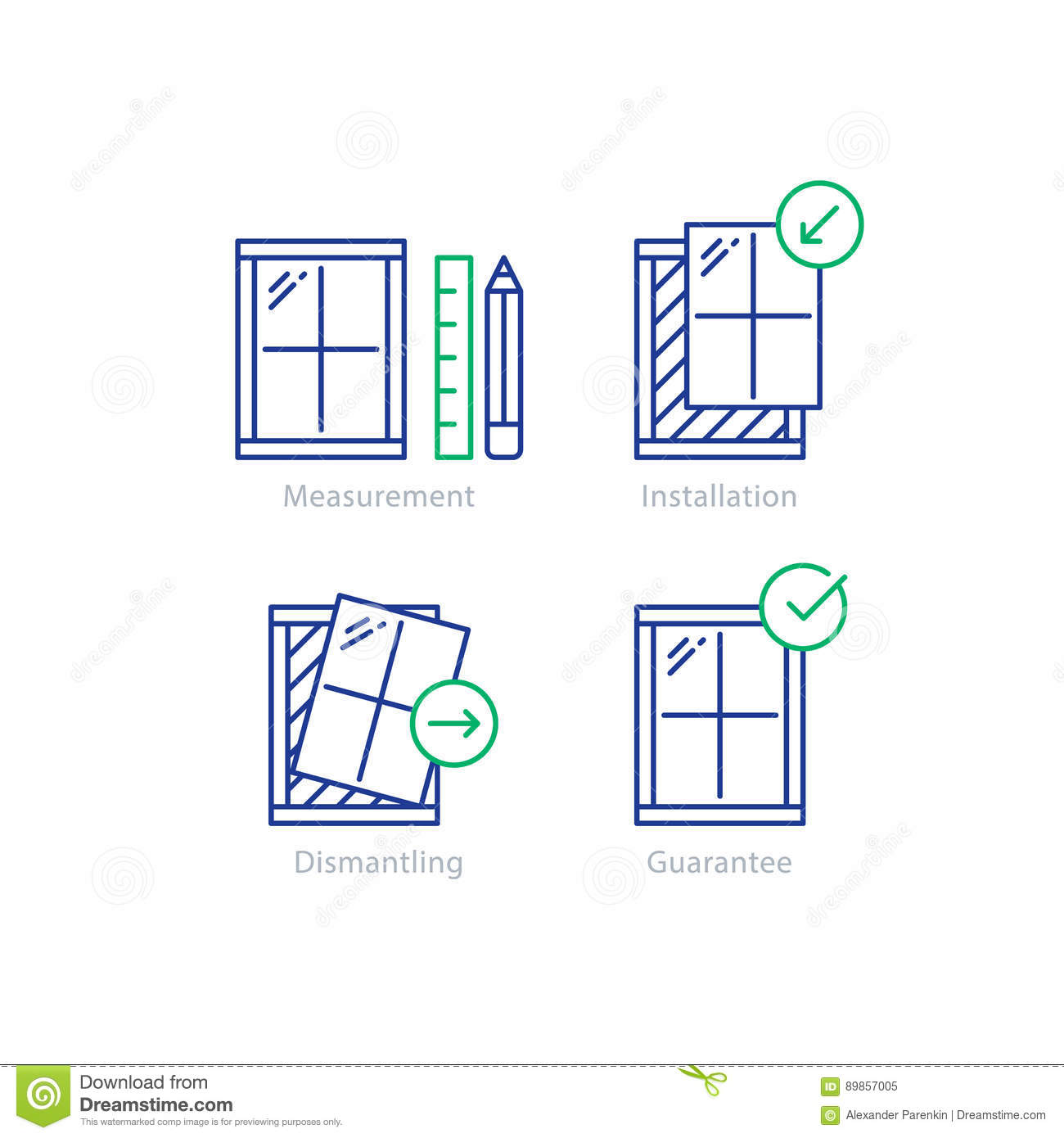 How do you measure windows sizes for replacements?