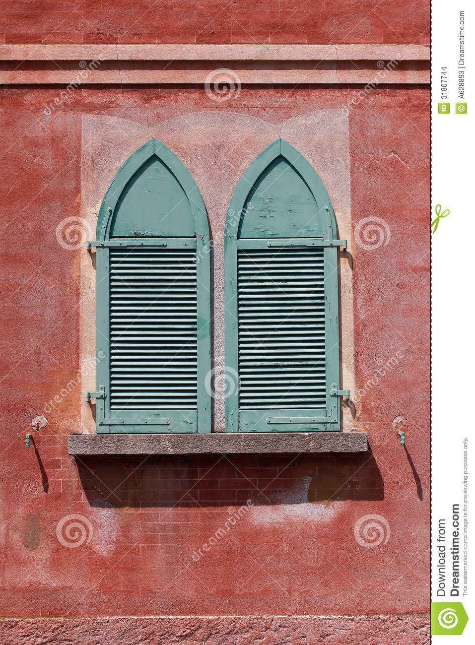 Wood Shutters Closed : Window shutters stock images image