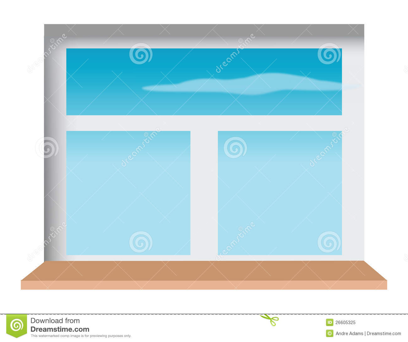 Window Sill Royalty Free Stock Image