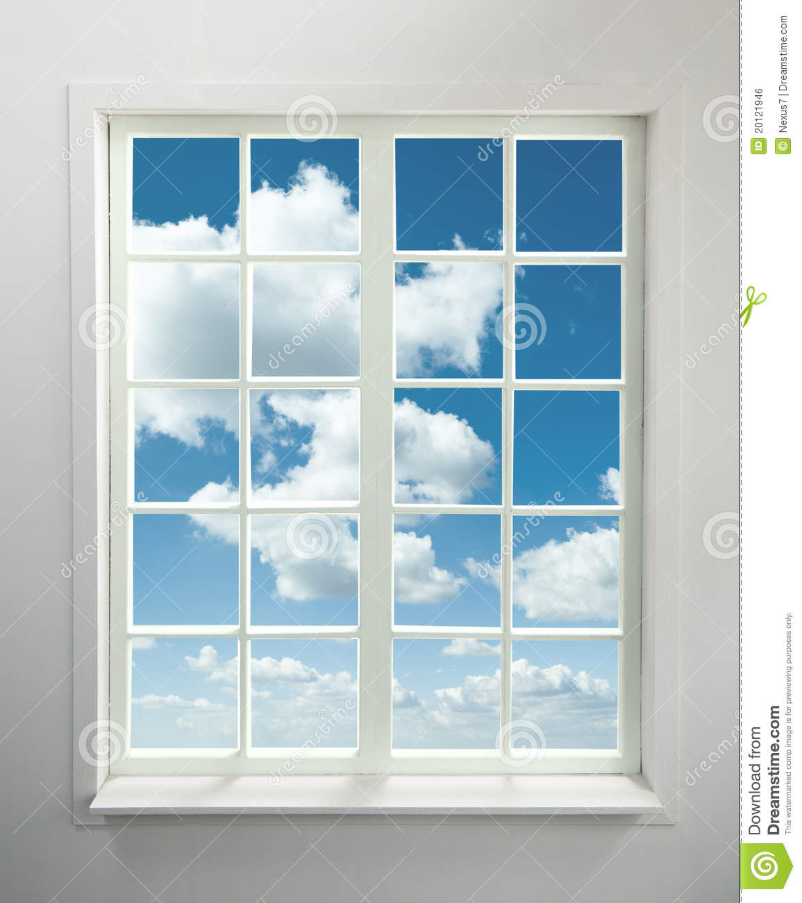 Http Www Dreamstime Com Royalty Free Stock Image Window Sky Image20121946