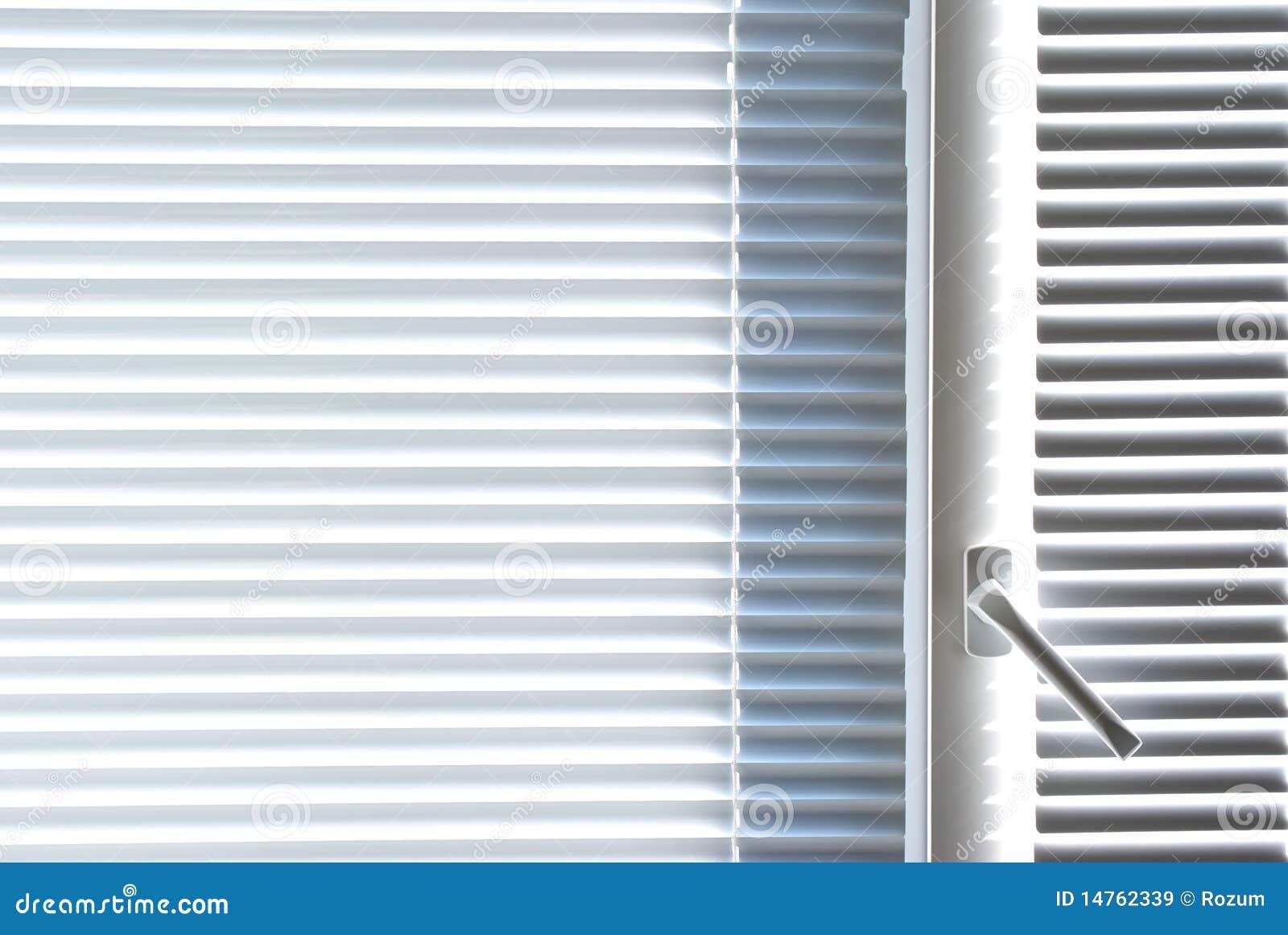 Window with white jalousie royalty free stock images for Jalousie window design