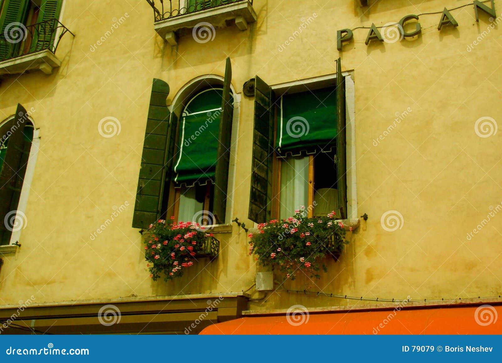 Windows à Venise