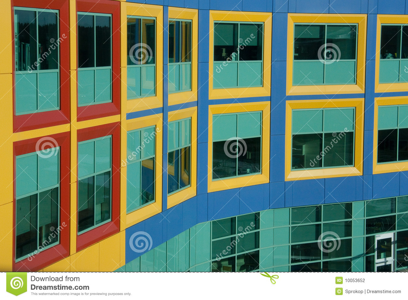 Windows assemelha-se a blocos de apartamentos coloridos