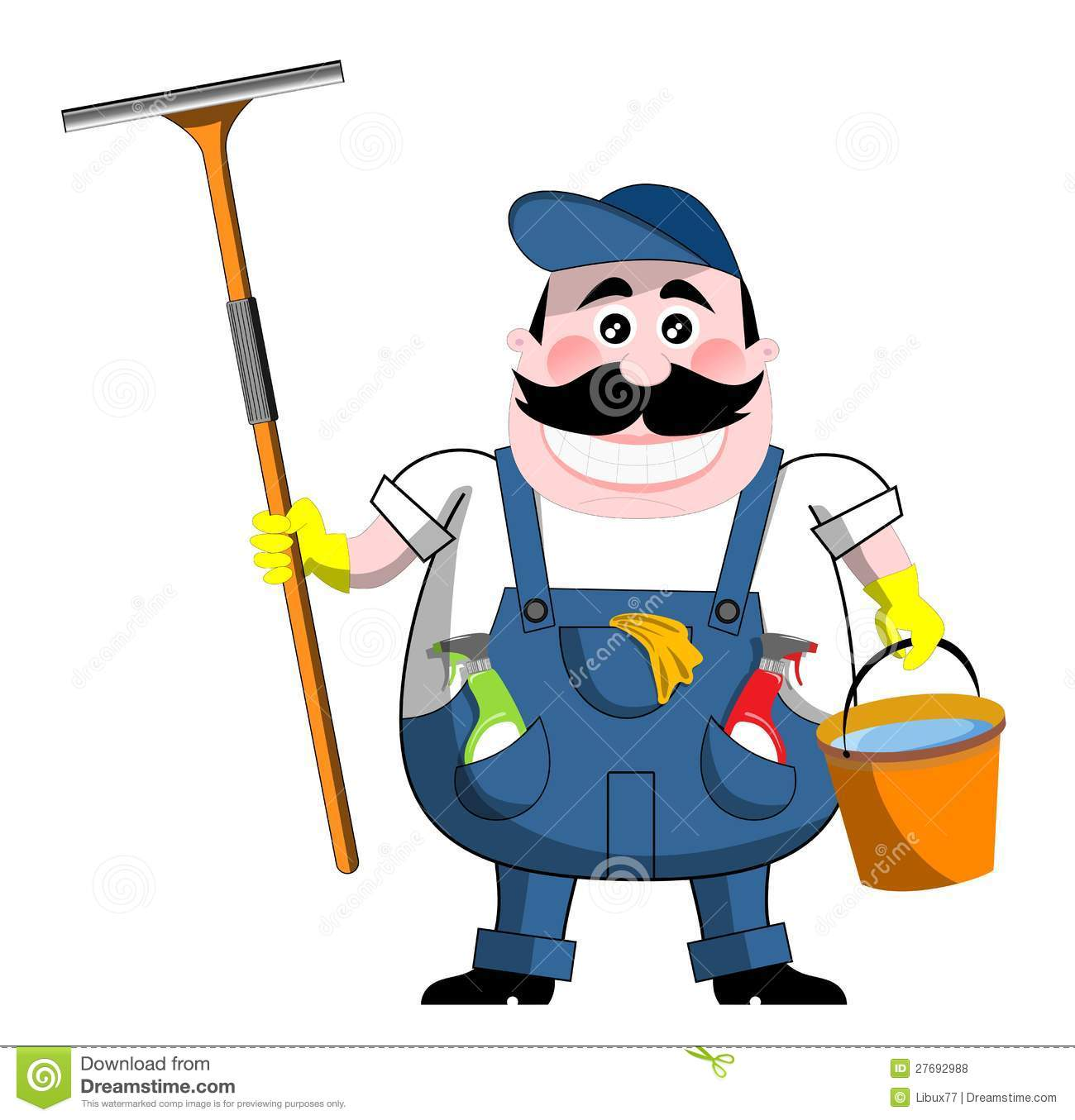 Windows Cleaner Royalty Free Stock Photos Image 27692988