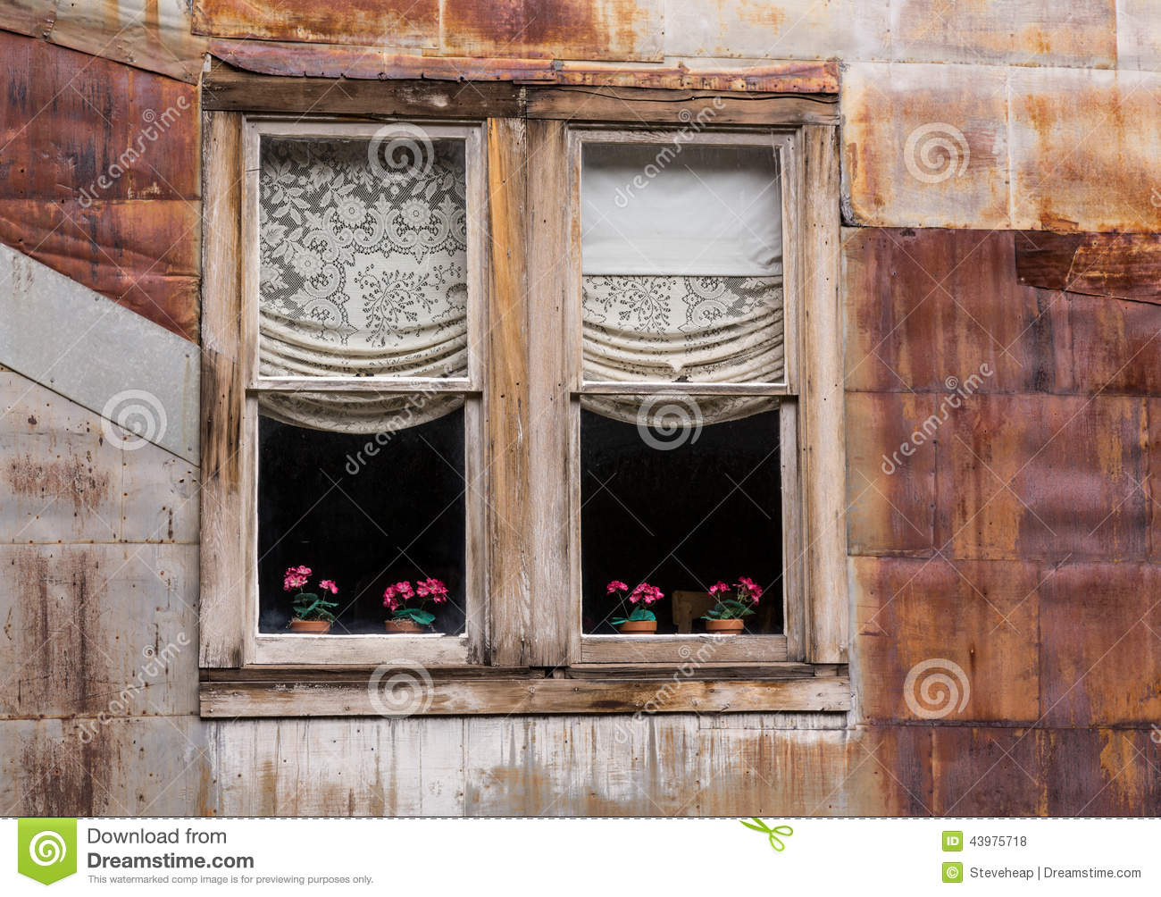 Windows in ghost town of st elmo stock photo image 43975718 for Wood windows colorado