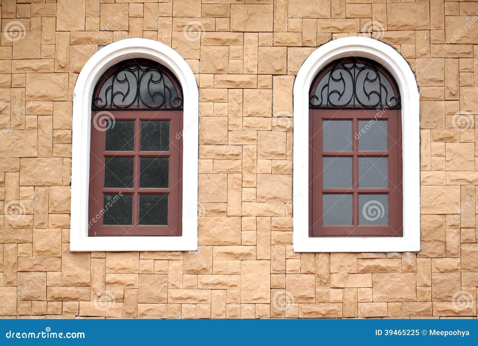 Windows for homes - Brick Homes Wall Windows