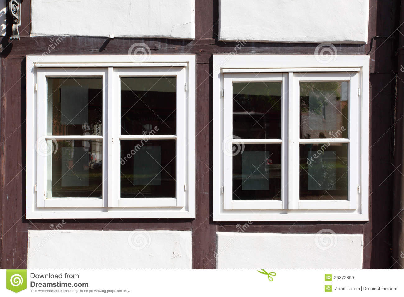 Windows of old house stock image image of closeup fasade for House windows