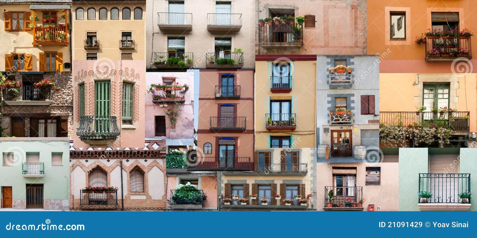 Windows-Türen und Balkone