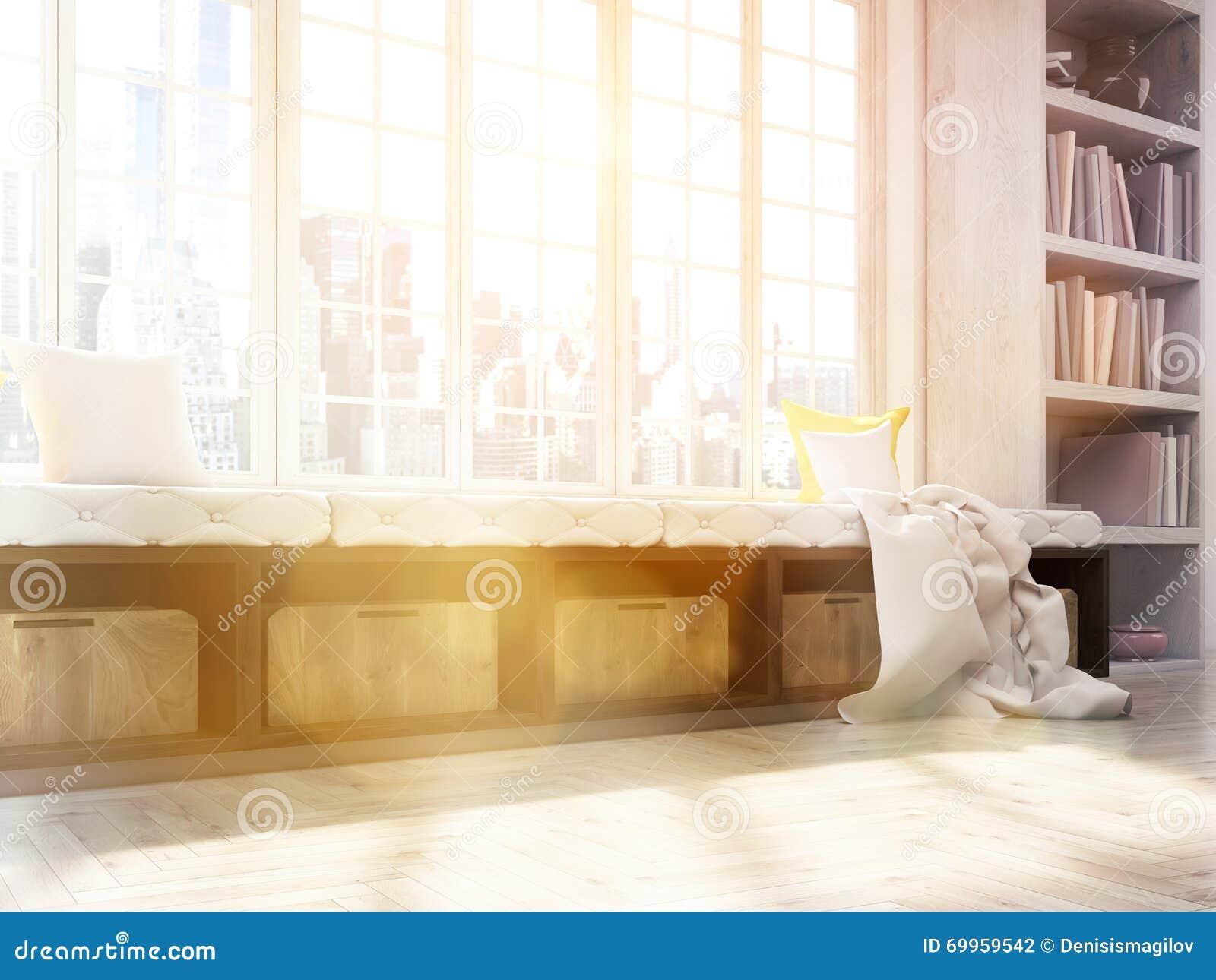 Windowsill Seat Toning Side