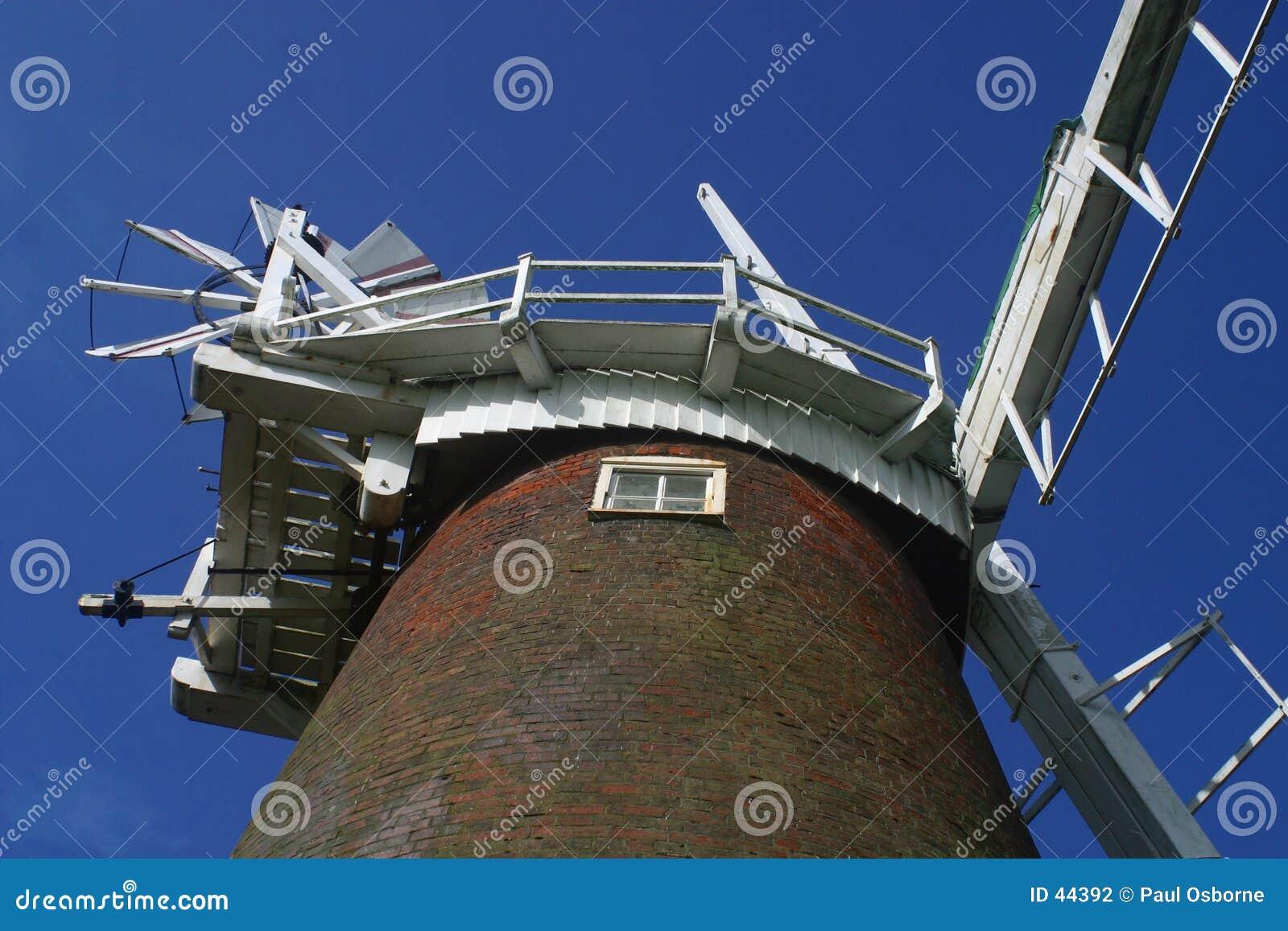 Download Windpump stockfoto. Bild von norfolk, broads, windmühle - 44392