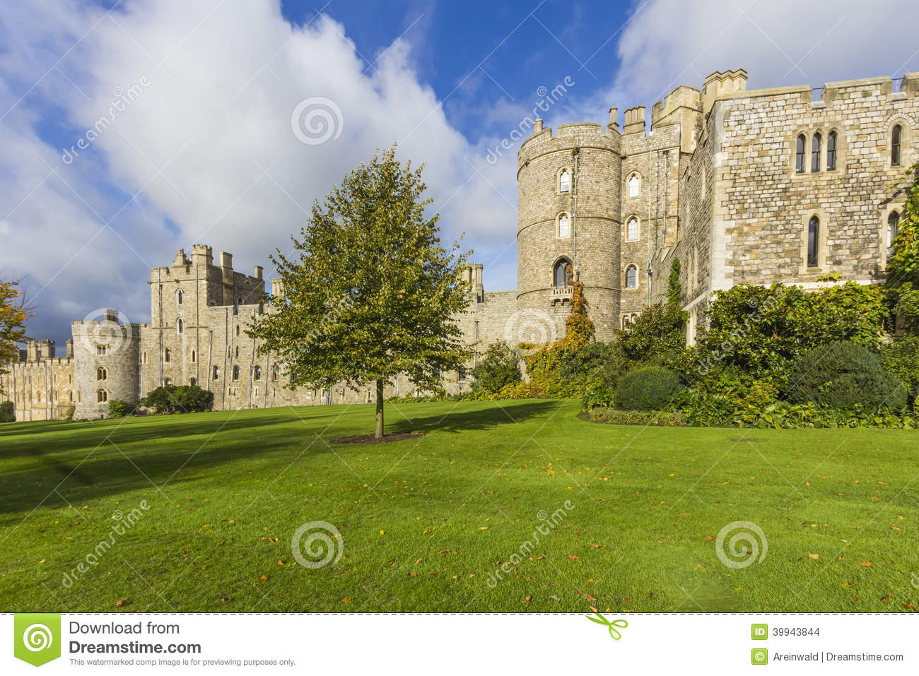 Windsor Castle Stock Photo Image 39943844