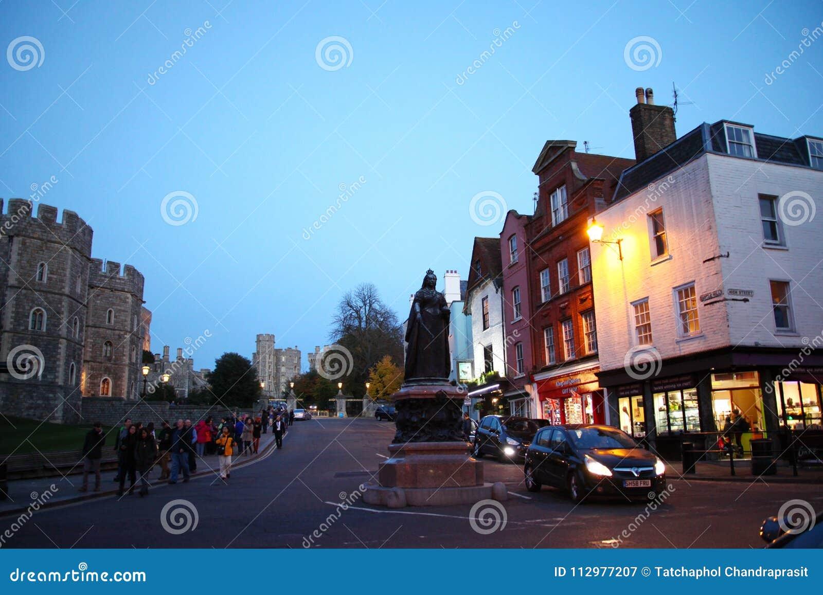 Windsor castle scene.