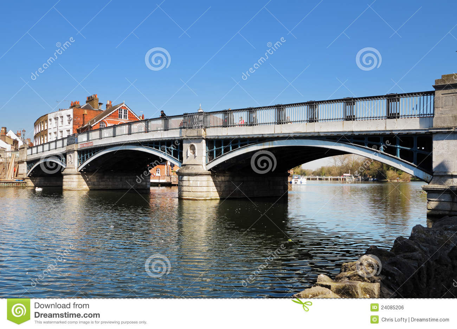 Windsor and Eton Bridge over the River Thames