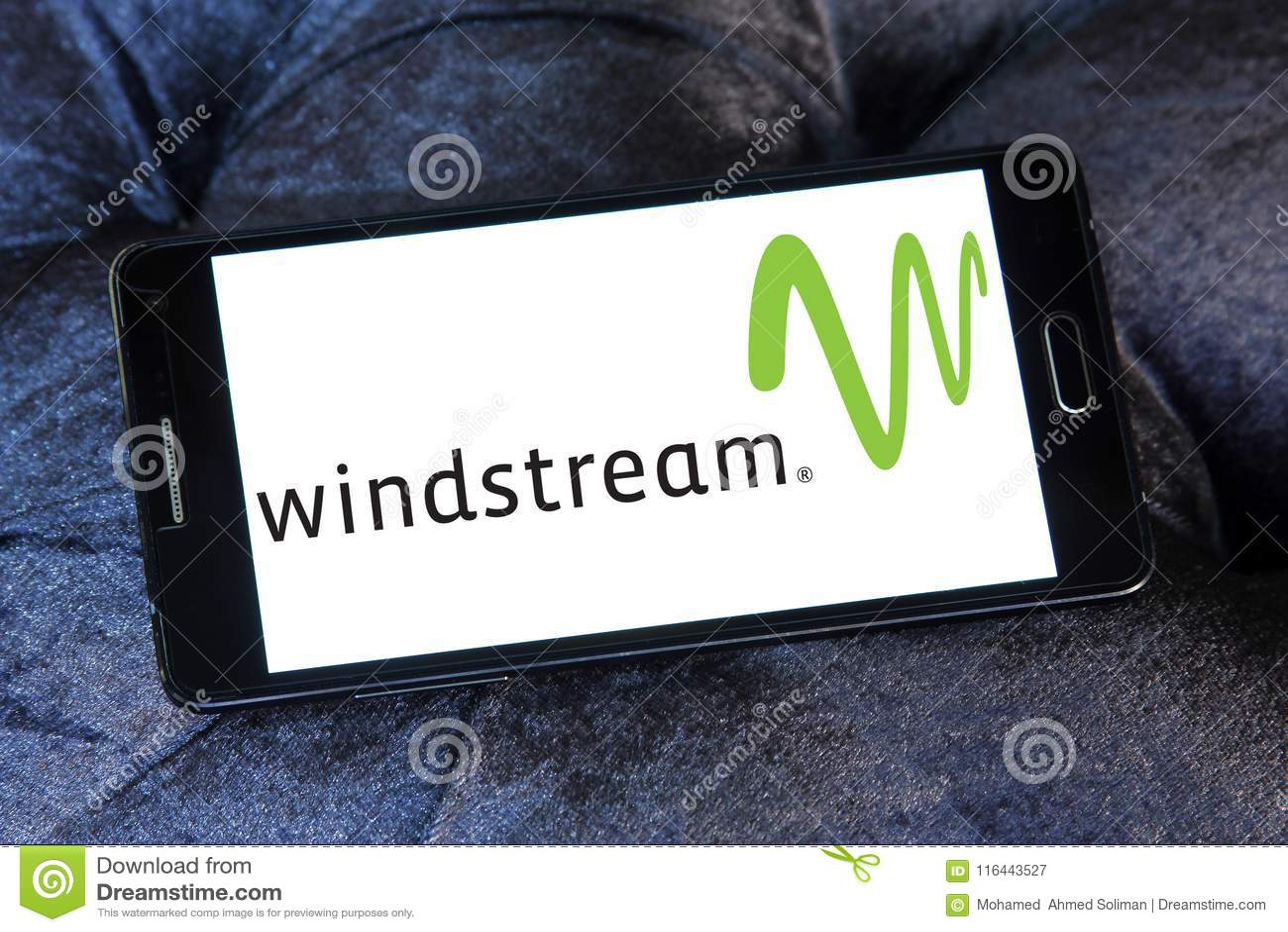 Windstream Communications Company Logo Editorial Photography Image