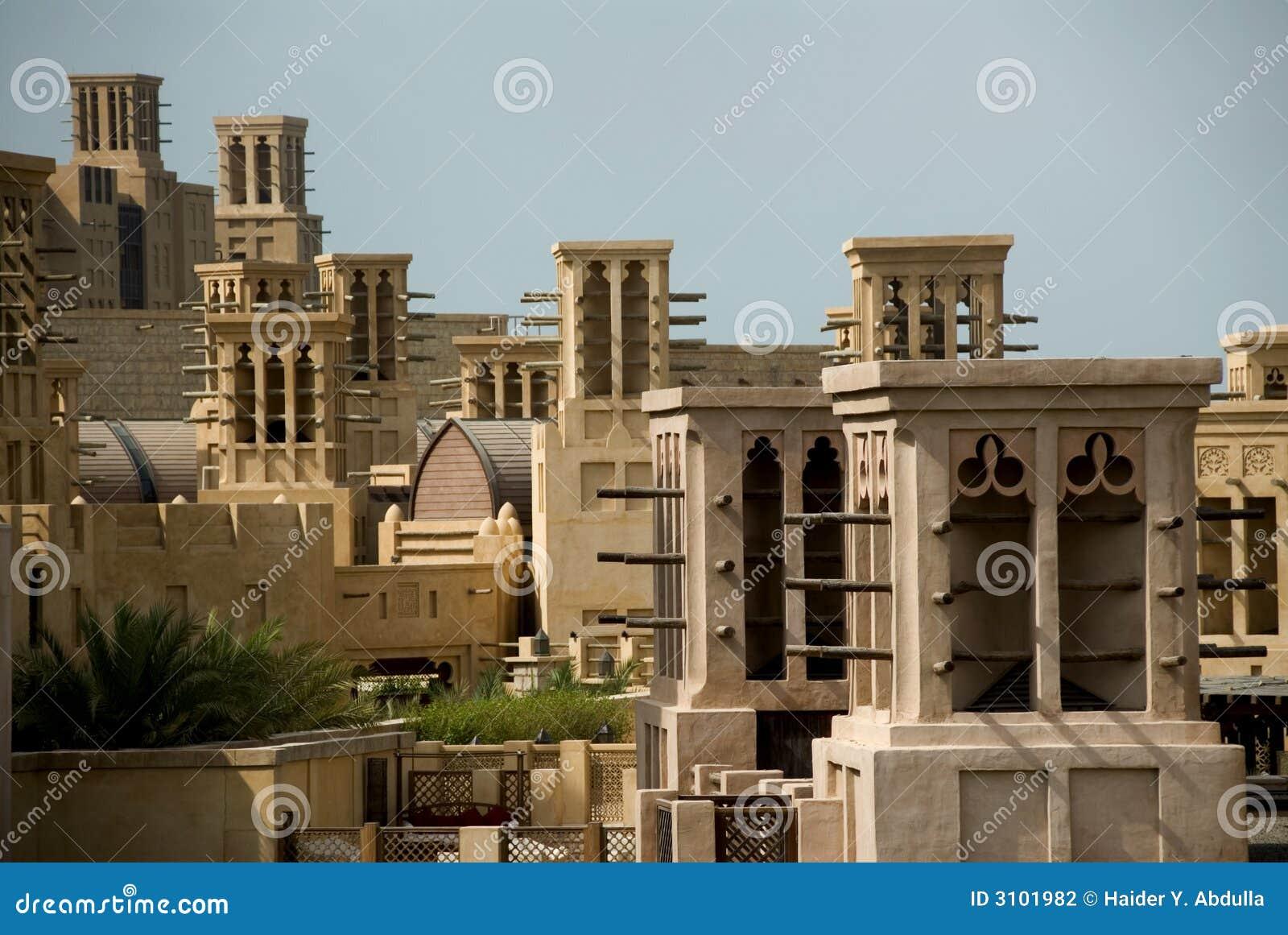 Windtowers in Madinat Jumeirah