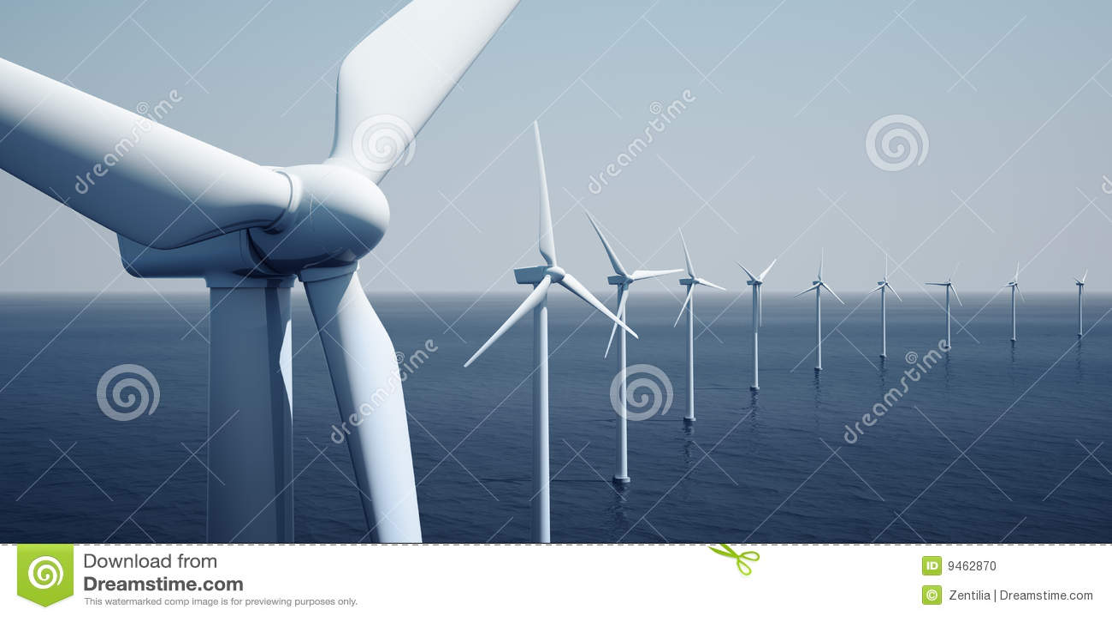 Windturbines d océan
