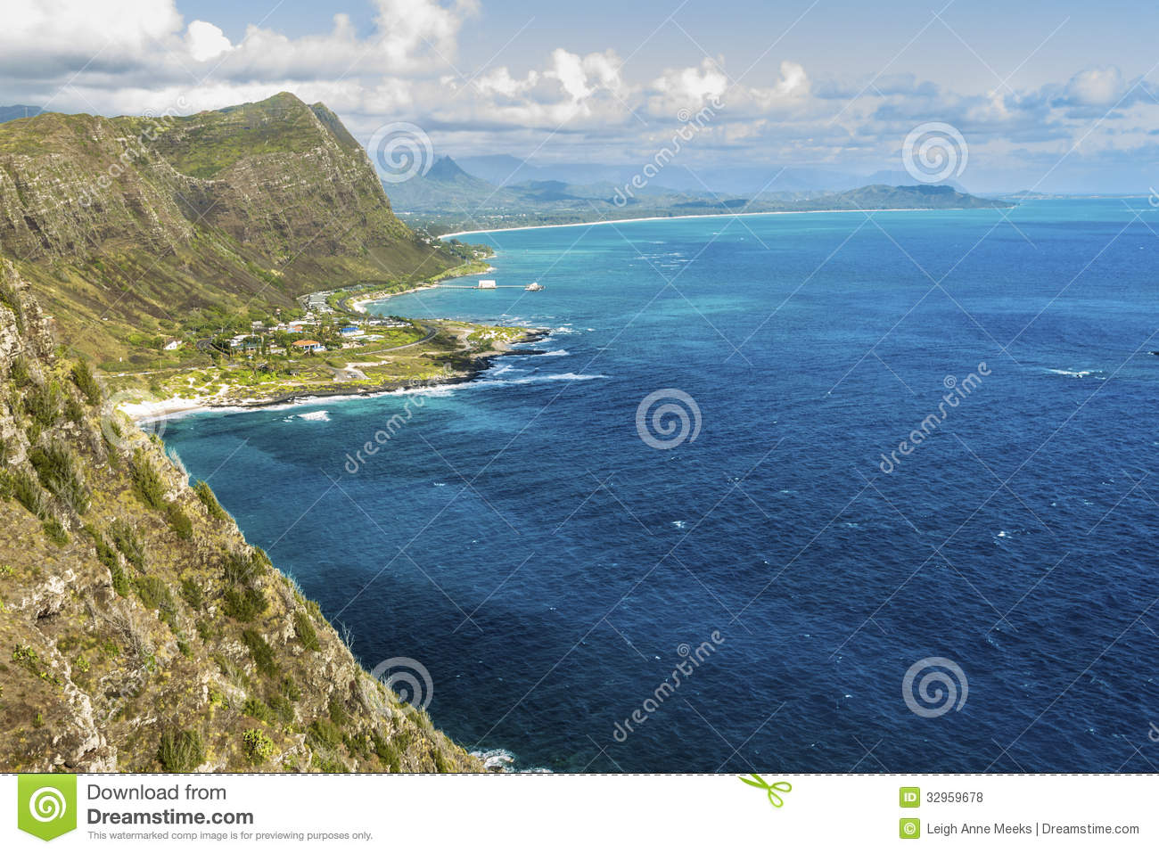 Windward Oahu Royalty Free Stock Photos Image 32959678